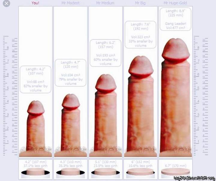 Penis size and compatibility